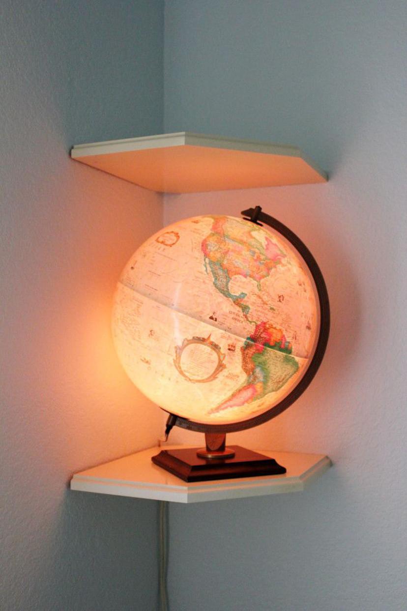 decoração com luminária