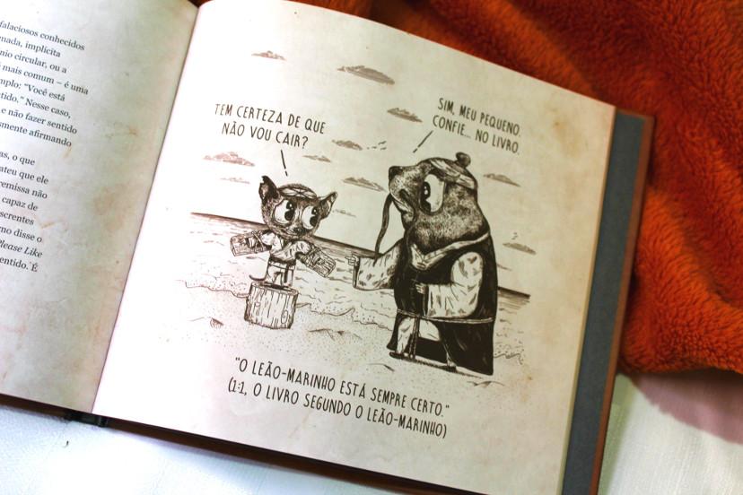 página do livro - o livro dos maus argumentos