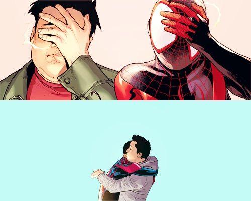 Ganke, o amigo de Miles Morales que serve de inspiração para Ned em Homem Aranha de Volta ao Lar.