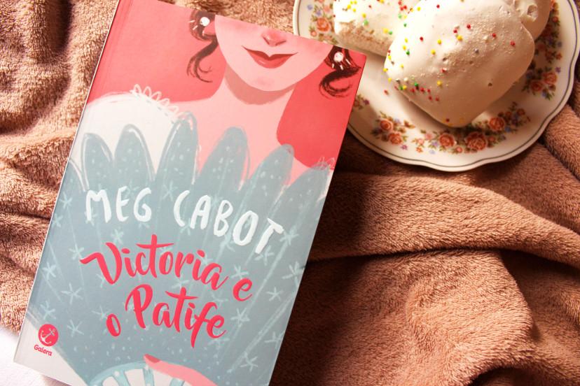 capa livro Victoria e o Patife de Meg Cabot