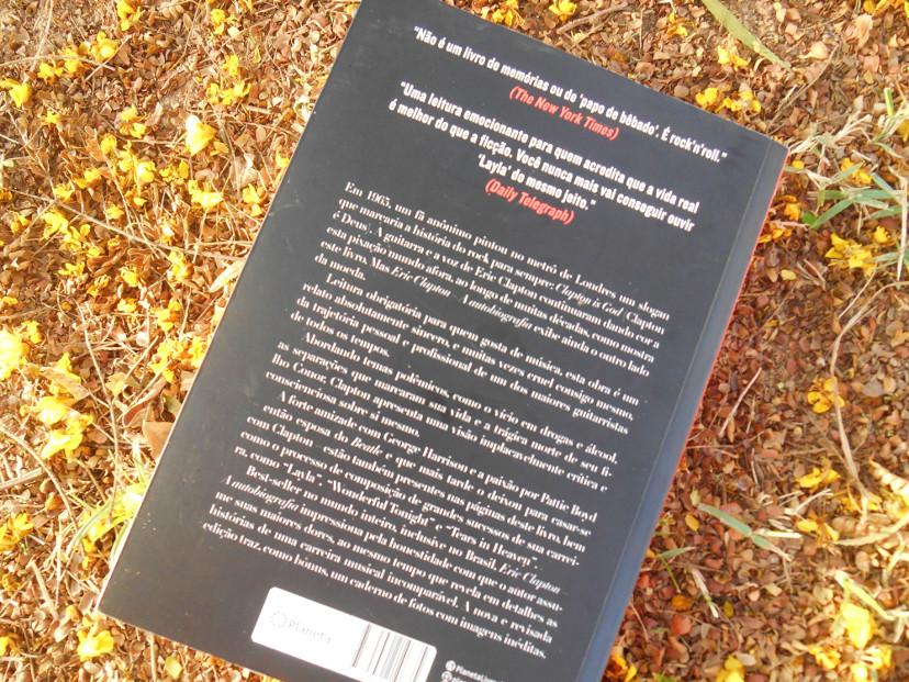 resenha livro Eric Clapton a autobiogrfia