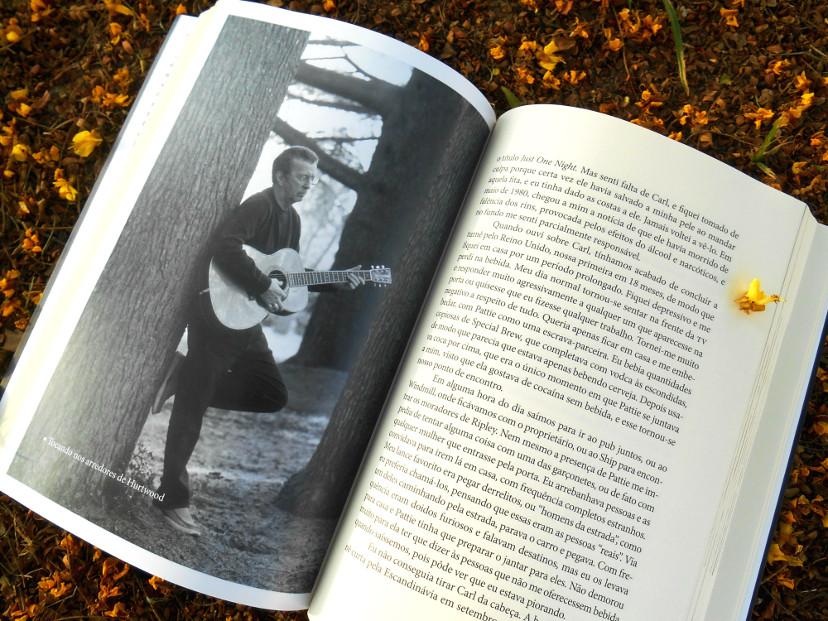 resumo livro - Eric Clapton a autobiografia