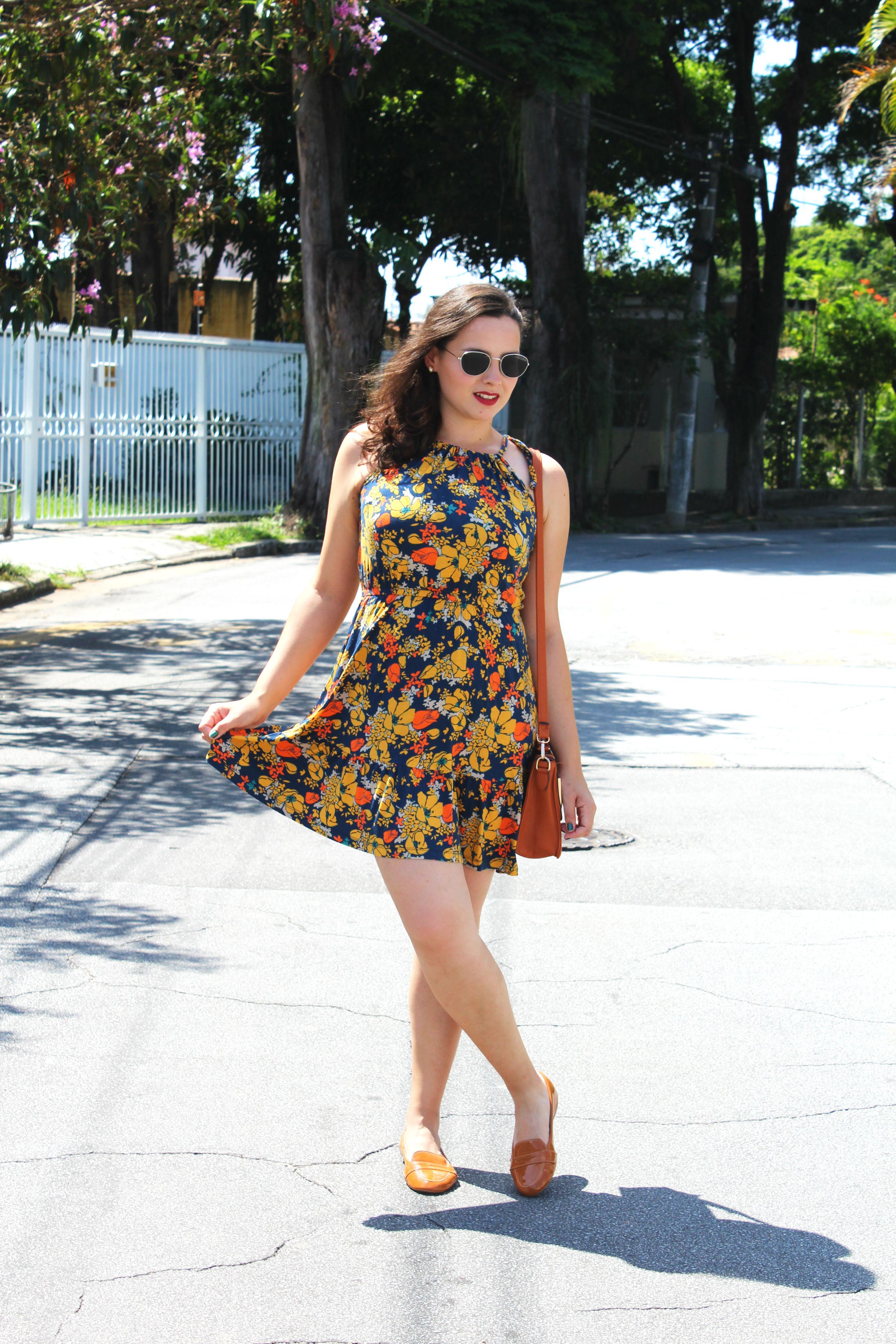 vestido curto com sapatilha - como usar