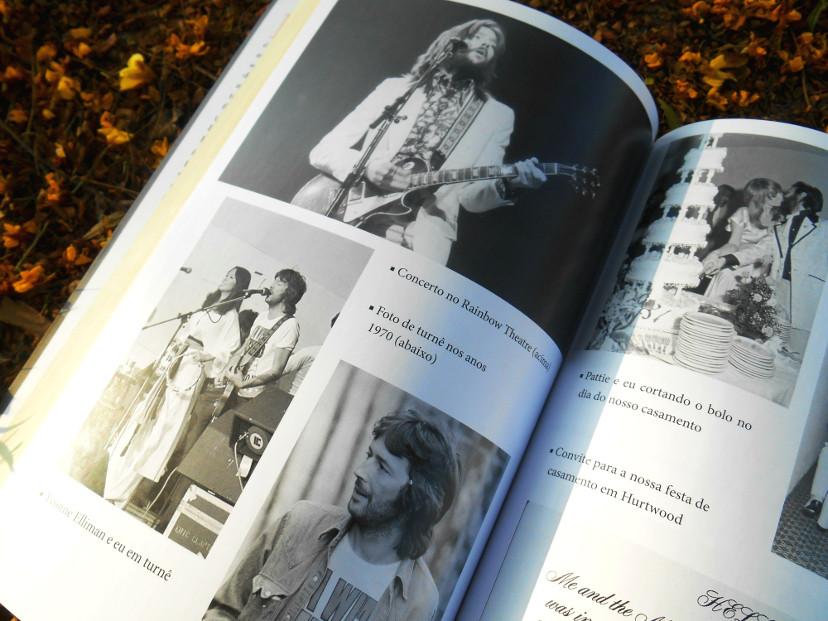 livro - Eric Clapton a autobiografia - curiosidades