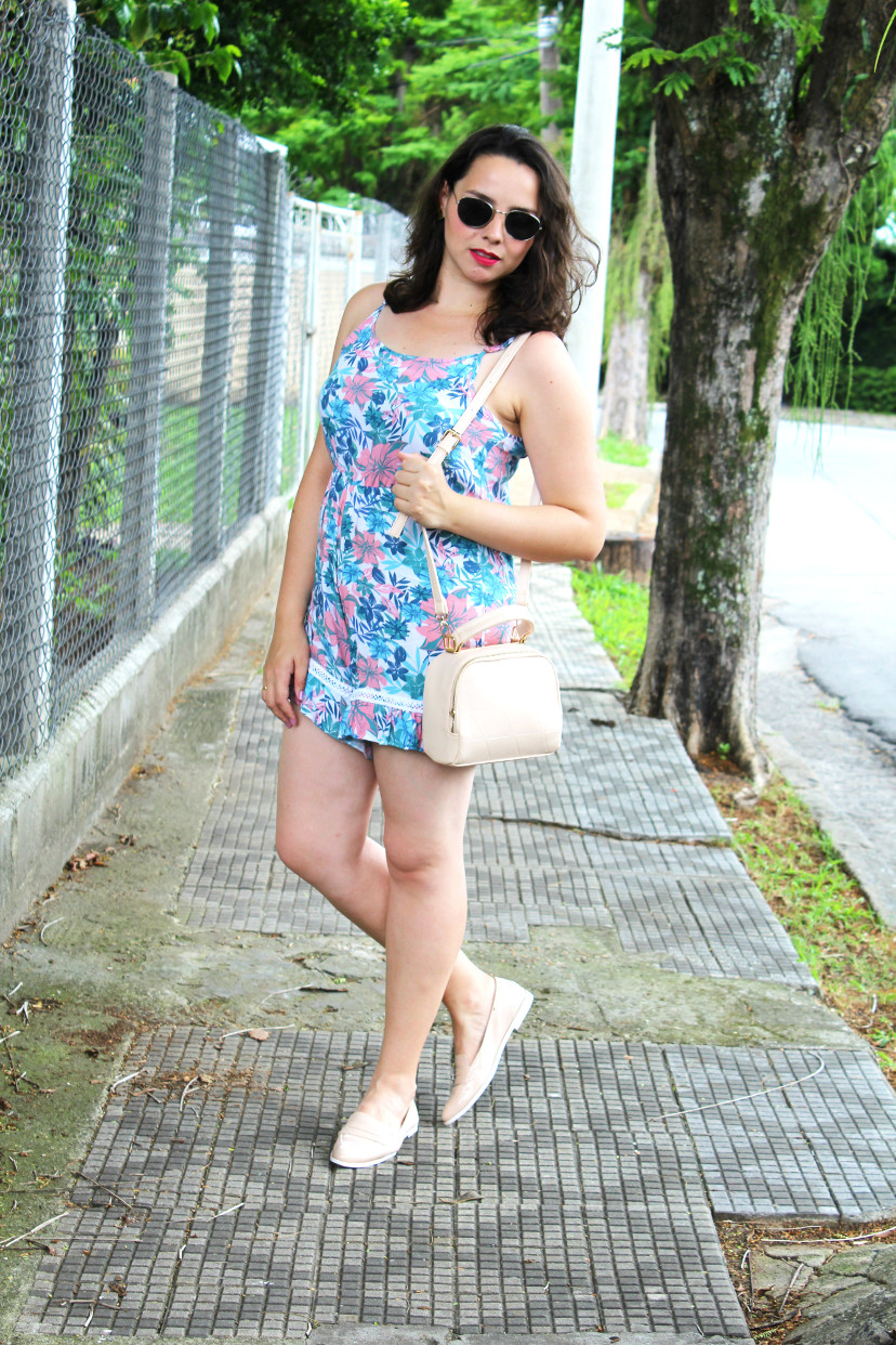 Look com maquinho candy color