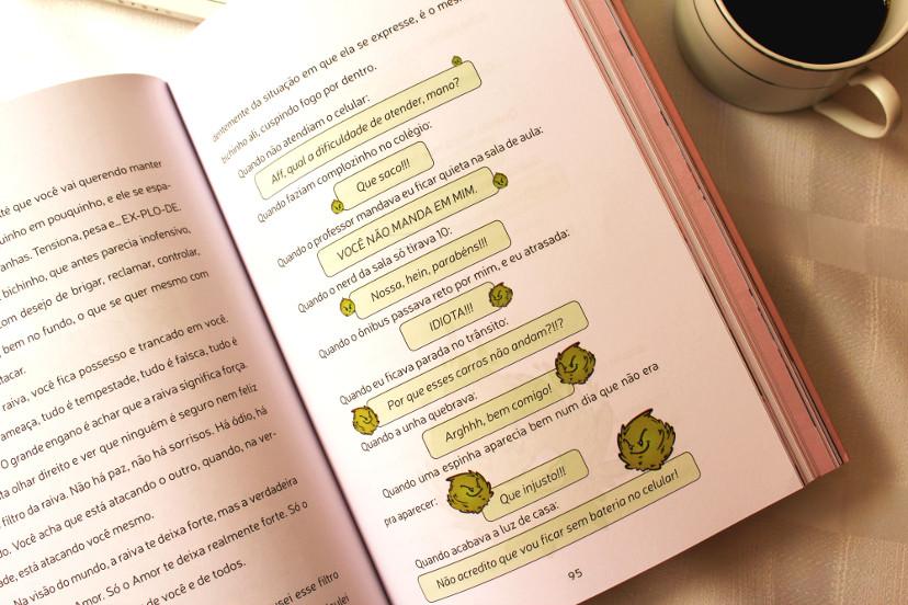 Páginas desenhadas do livro A vida sem filtros d