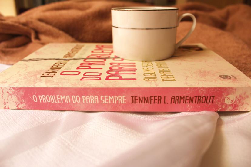 Lombada do livro O problema do para sempre