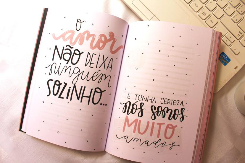 Páginas do livro A vida sem filtros de Nah Cardoso