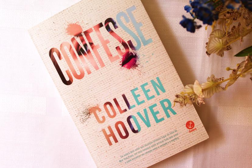 Capa do livro Confesse de Colleen Hoover