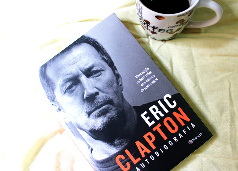 Livro - Eric Clapton a Autobiografia