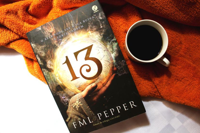 Capa Livro 13 de FML Pepper