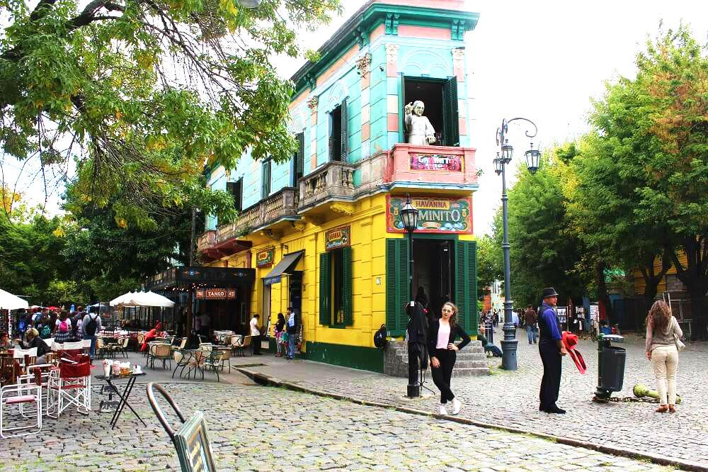 Lugares em Buenos Aires - El Caminito