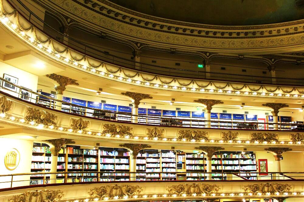El Ateneo - Biblioteca mais bonita do mundo