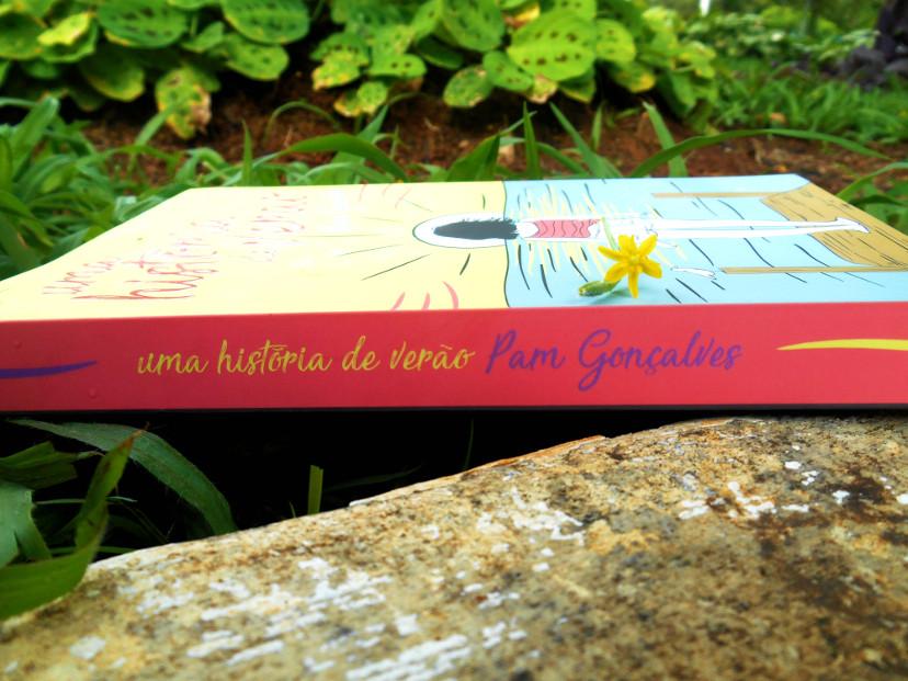 Resenha do livro - Uma história de amor de Pam Gonçalves