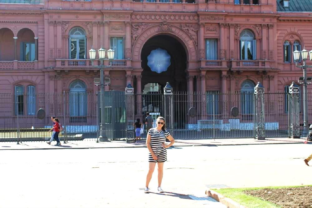 Lugares em Buenos Aires- Casa Rosada