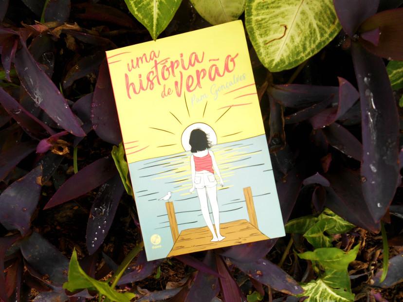 Livro Uma história de amor de Pam Gonçalves