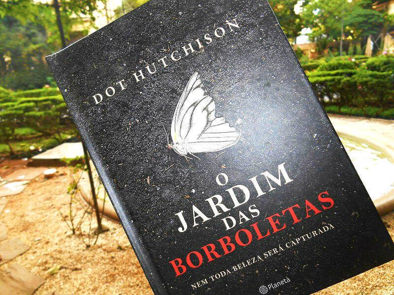 Capa do livro - O Jardim das Borboletas