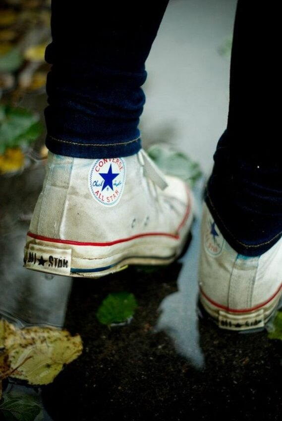 Converse all star sujo