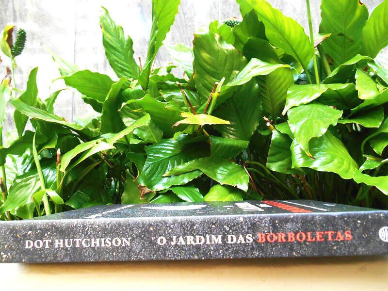 Lombada do livro - O Jardim das Borboletas