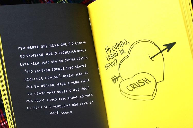 Páginas do livro - Sempre faço tudo errado quando estou feliz