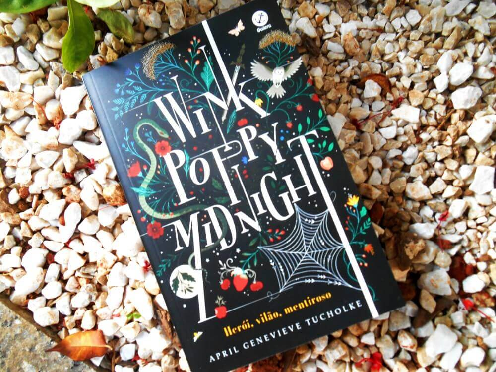 resenha do livro:  WInnk Poppy Midnight