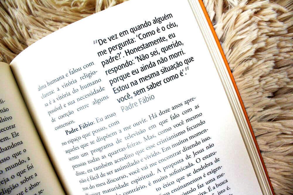resenha do livro - Crer ou Não Crer - Fábio de Melo e Leandro Karnal