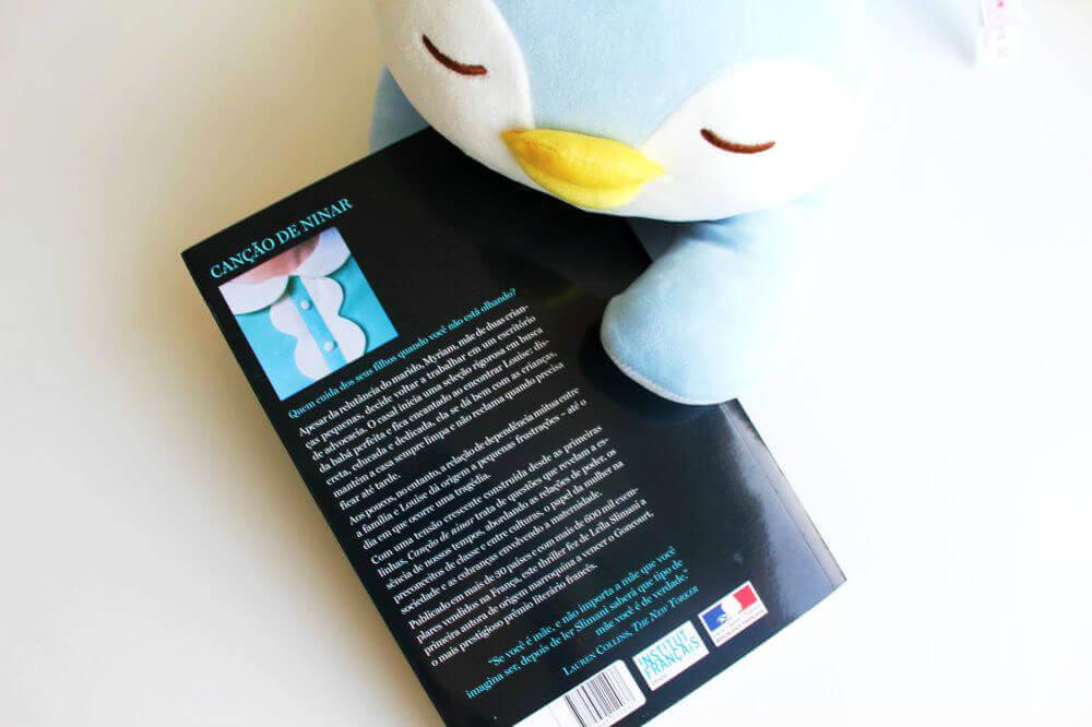 Contra capa do livro - Canção de ninar
