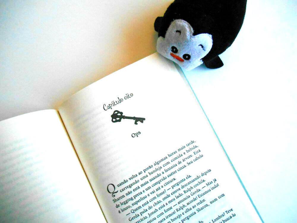 páginas do livro - Frio Congelante