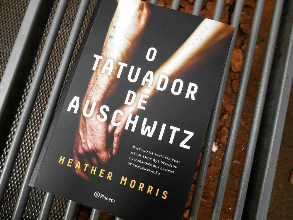 capa do livro - o tatuador de auschwitz