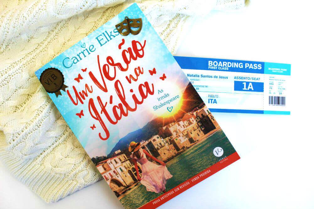 Resenha do livro - Um verão na Itália