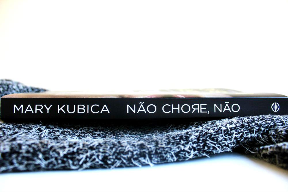 lombada do livro - não chore, não de Mary Kubica