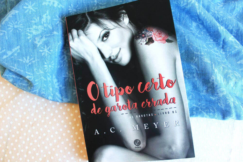 Livro - O tipo certo de garota errada - A. C. Meyer