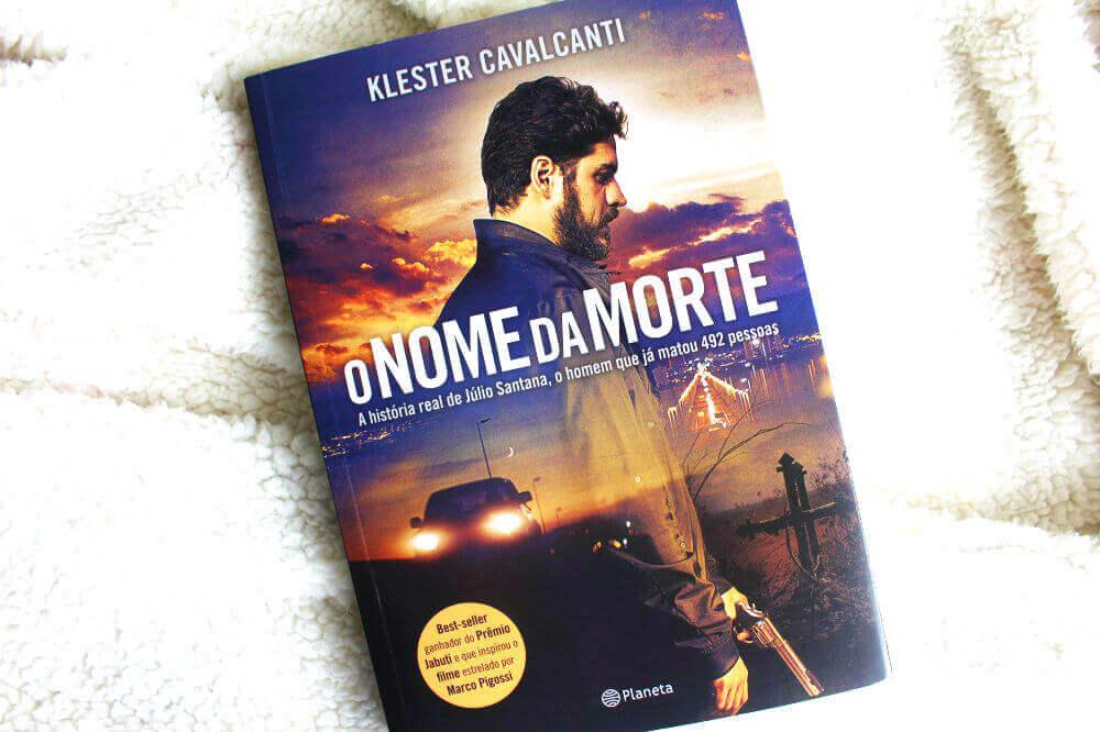 Capa do livro - O Nome da Morte