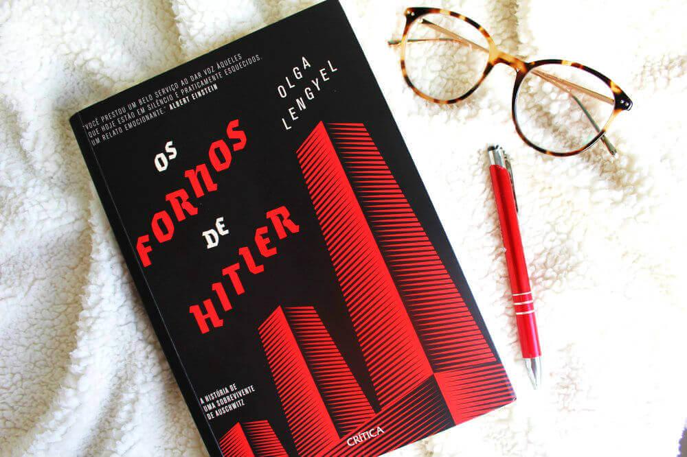 capa do livro - Os fornos de Hitler