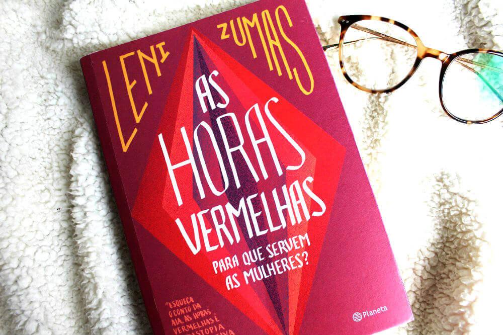Capa do livro - As horas vermelhas