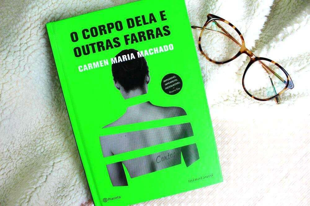 Capa do livro - O corpo dela e outras farras