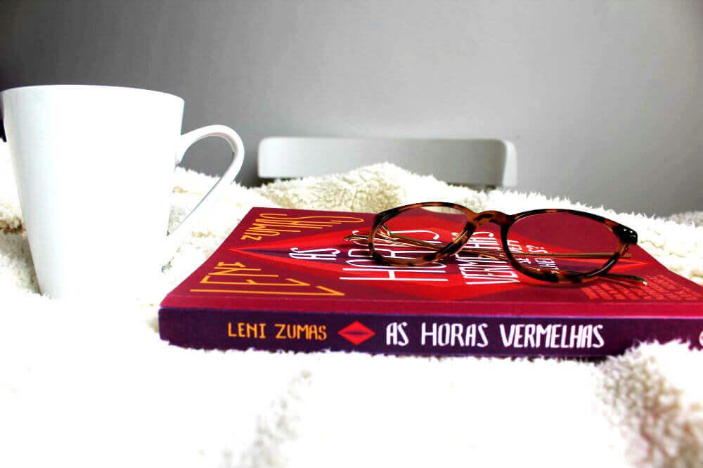 Lombada do livro - As horas vermelhas