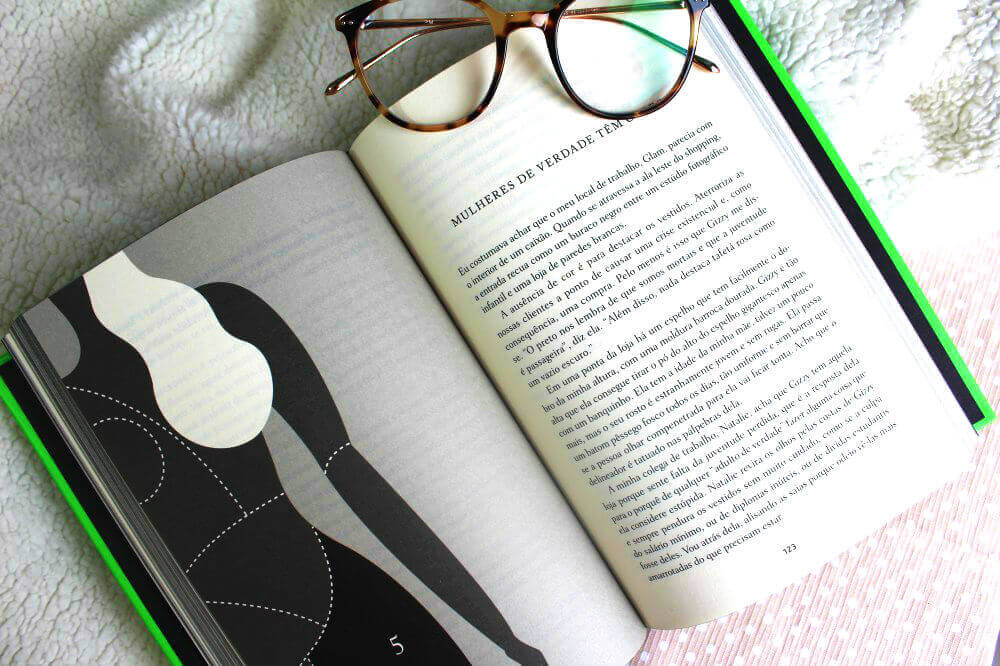 páginas do livro - O corpo dela e outras farras