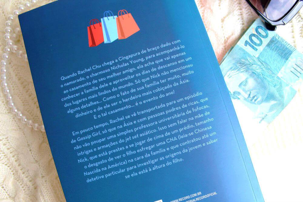 contra capa do livro - asiáticos podres de ricos