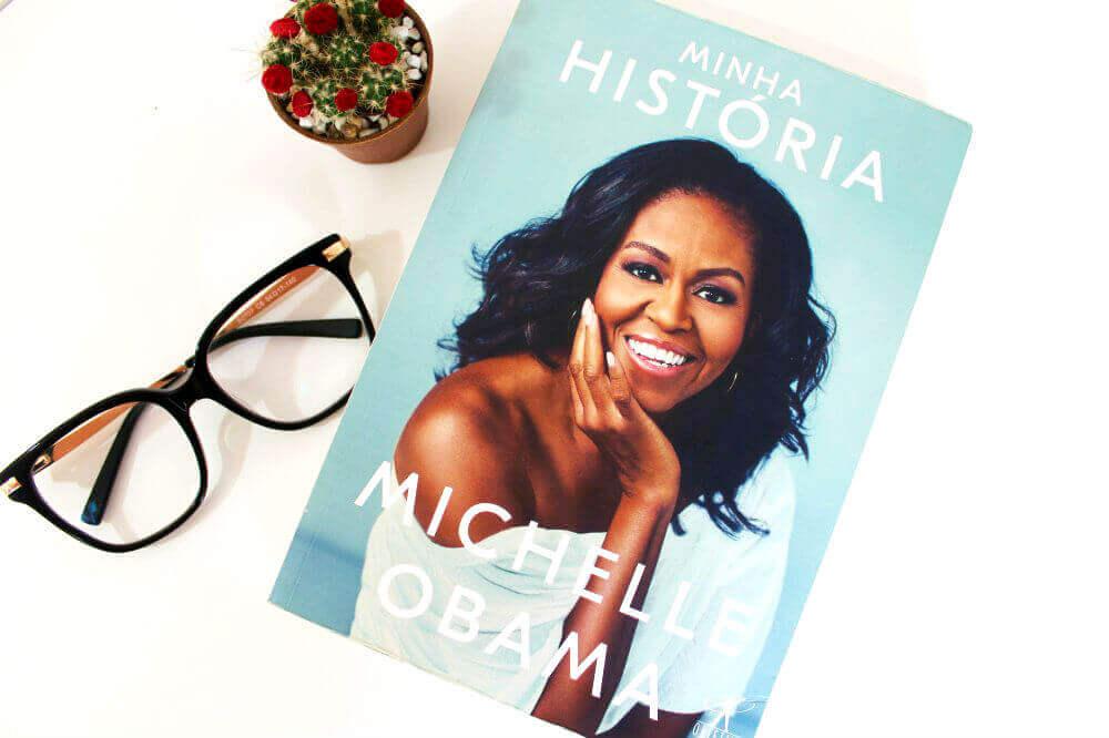 capa do livro - minha história - michelle obama