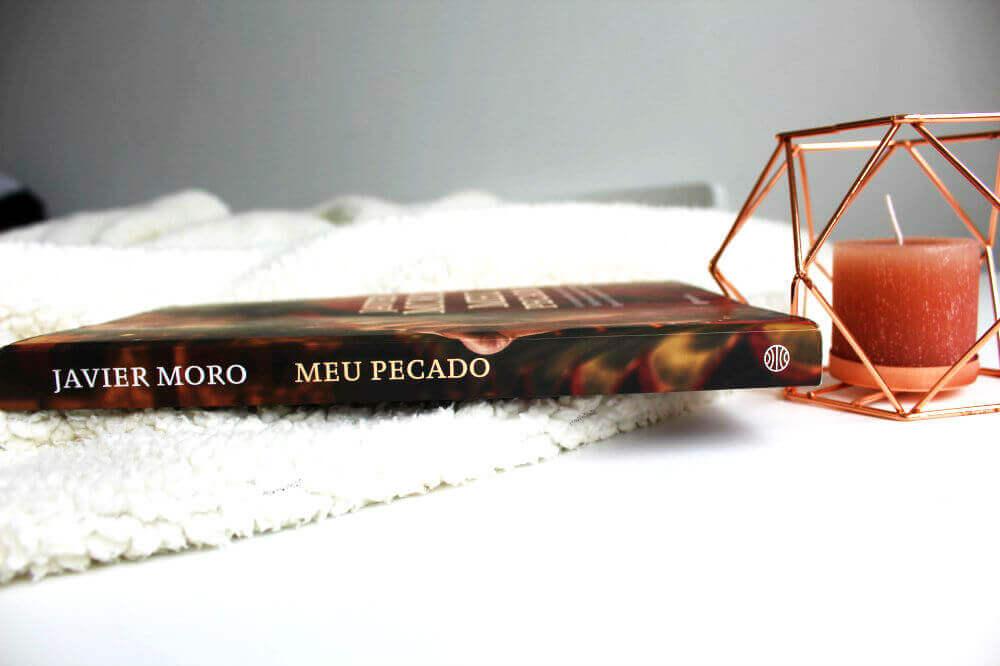lombada do livro - meu pecado - javier moro