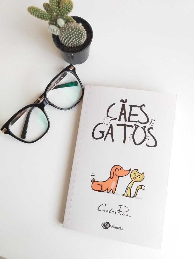 capa do livro - cães e gatos - carlos ruas