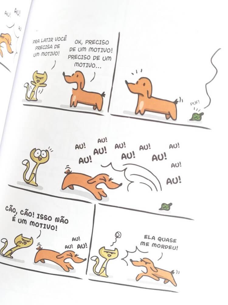 livro cães e gatos  - carlos ruas